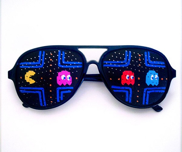 Video Game Sunglasses Keep the Pixels out of Your Eyes