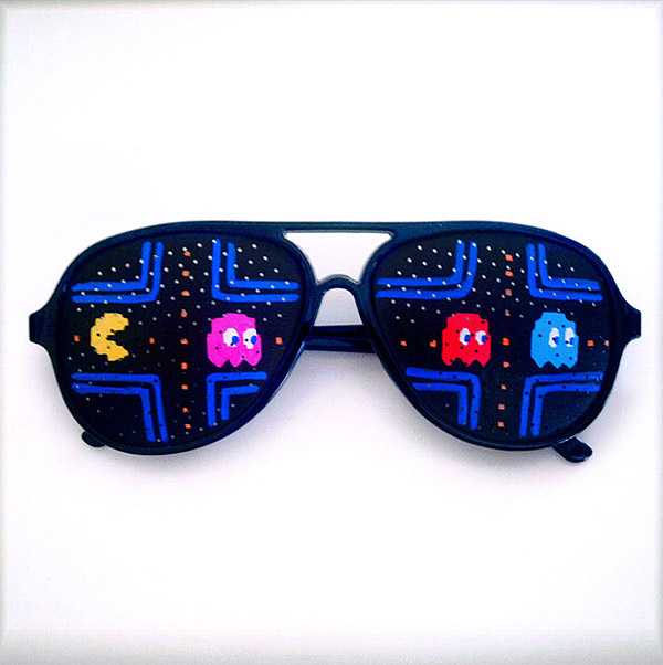 pac man shades