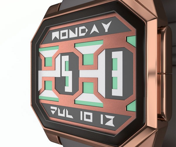 Paper Blade E-Ink Watch Concept Offers a Refreshingly Different Design