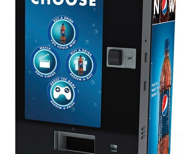 Give the Gift of Pepsi and Win Free Drinks on PepsiCo's Interactive Vending Machine