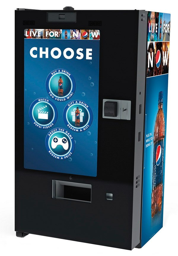 pepsi interactive vending machine