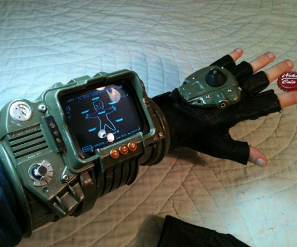 Pip-Boy 3000 Made from Picture Frame 2012