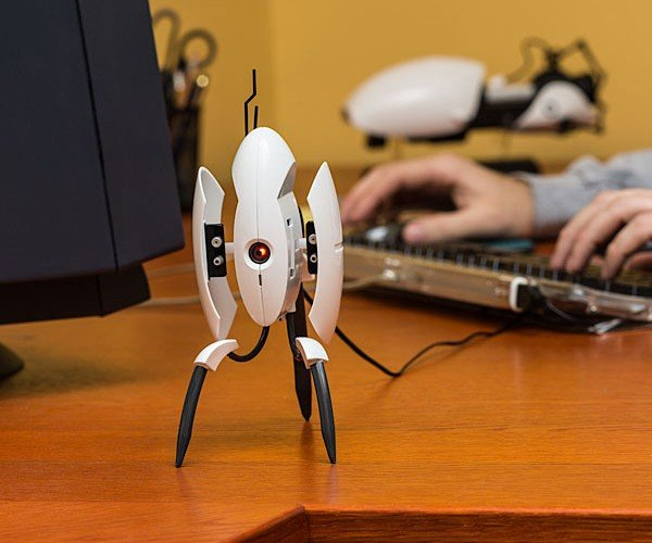 ThinkGeek Portal 2 Turret Vibrates, Talks and Doesn't Hate You