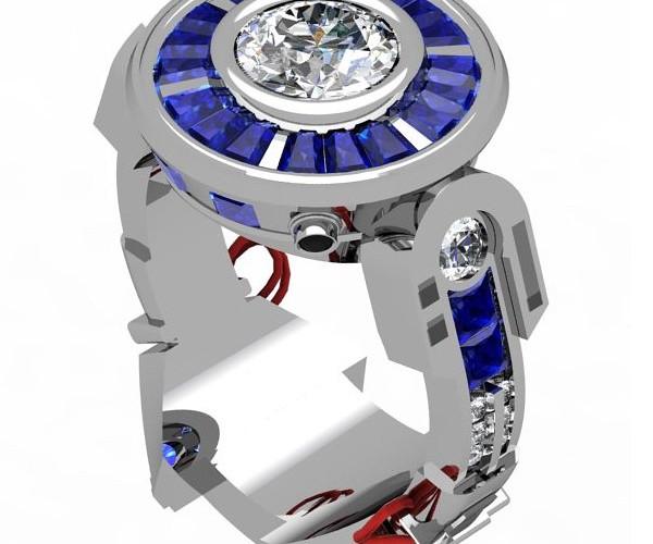 R2-D2 Engagement Ring: R2-I-Do