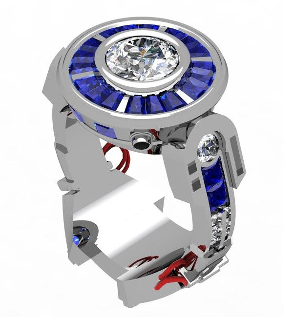 r2 d2 engagement ring 1