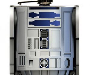 R2-D2 Hip Flask: Don't Drink and Droid