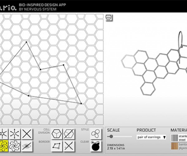 Radiolaria Lets You Design Your Own Custom Organic Jewelry in Seconds