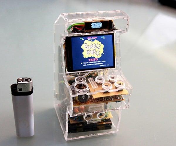 Raspberry Pi Micro Arcade Machine: A Sweet Slice of Classic Gaming