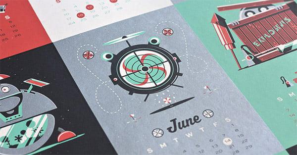 robot calendar 1