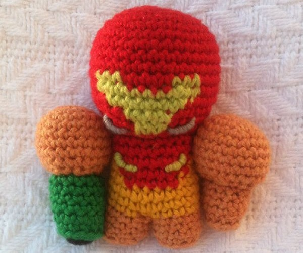 Samus Aran Amigurumi Plush is a Ball of Joy