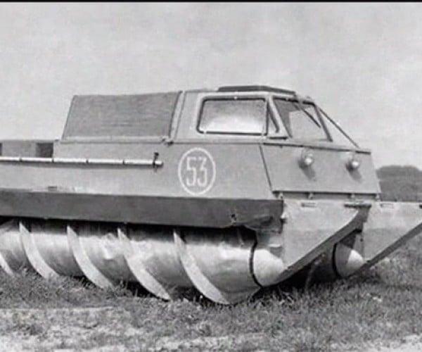 Crazy Tanks Used Corkscrews, Not Treads