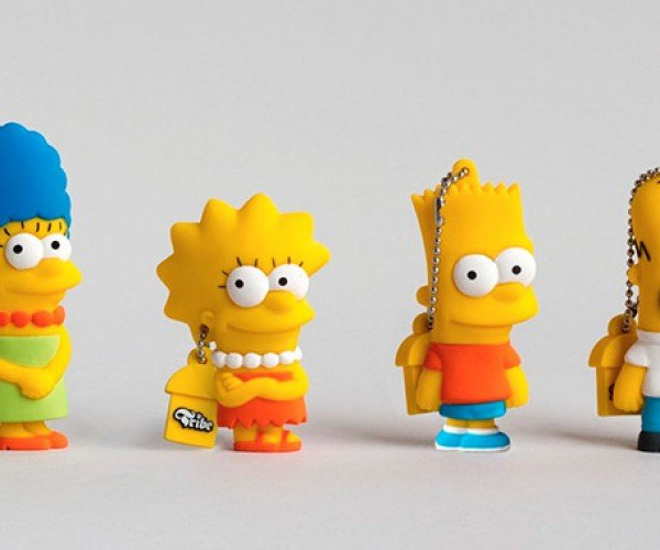 Simpsons Flash Drives: USB D.Oh