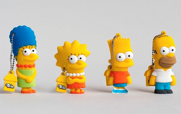 simpsons usb flash drives