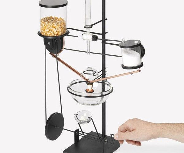Single Kernel Popcorn Popper: The Opposite of Jiffy Pop