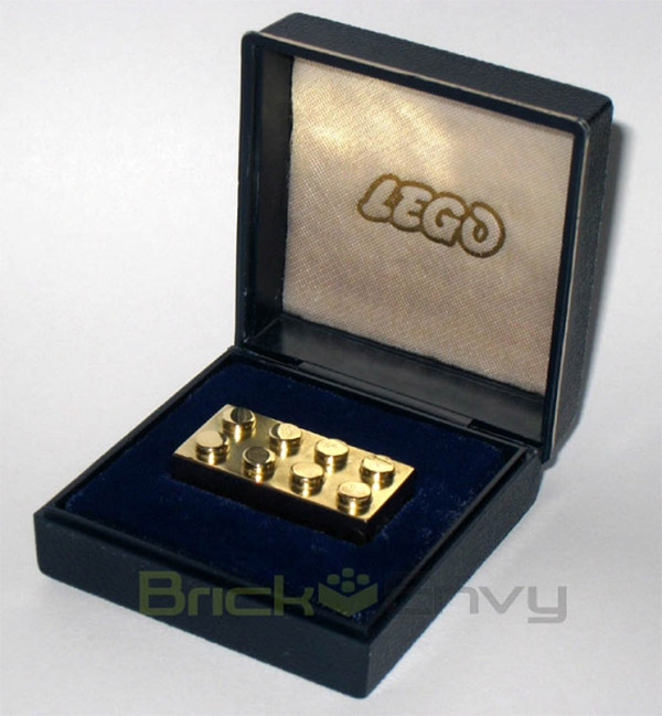solid gold lego