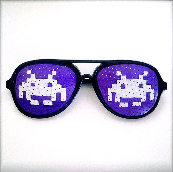 space invaders shades