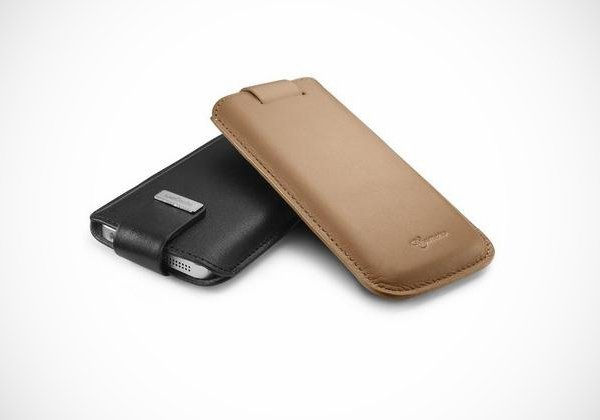 spigen sgp leather pouch iphone 5 case sleeve