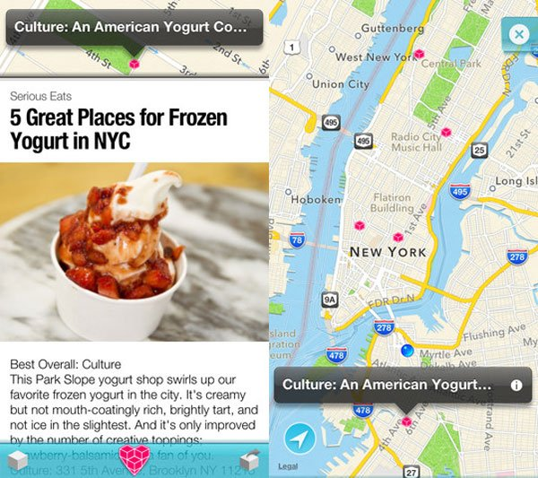 spun app urban city guide iphone ios ipad itunes