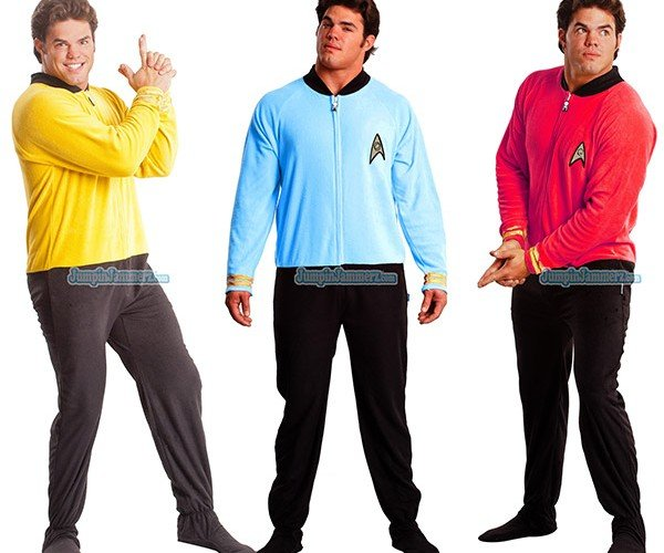 Star Trek Pajamas Go Where No Sleepwear Has Gone Before