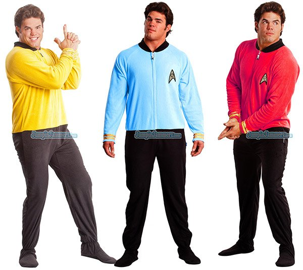star trek pajamas