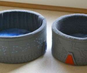 Diy Stargate Cat Bed: Nine Lives, Infinite Planets