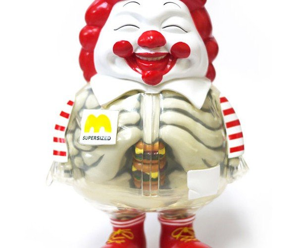 This Super-Sized McDonald's Figure Just Made Me Lose My Appetite