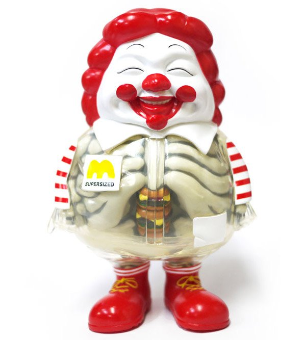 supersized ronald mcdonald 1a