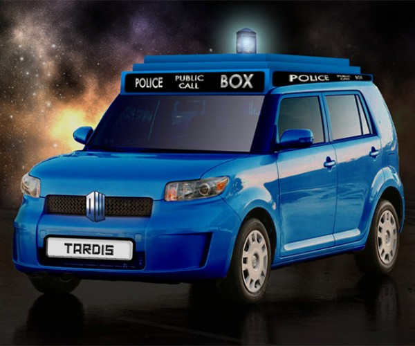 If Batman Can Have a Batmobile, Why Can't Doctor Who Have a TARDIS-Mobile?
