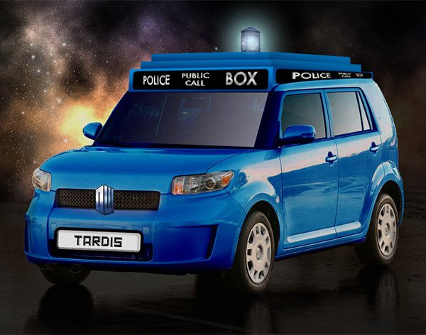 tardis scion car