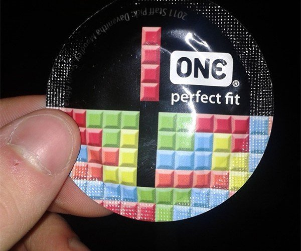 "Be Glad the Tetris Condom Isn't ""T""-Shaped"