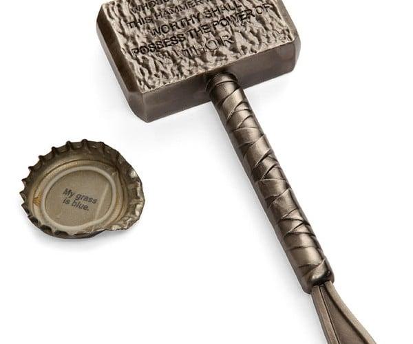 thor mjolnir hammer bottle opener