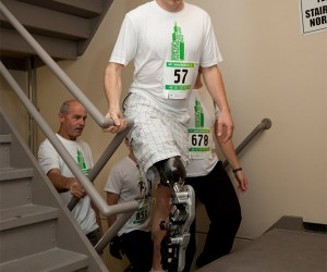 Thought-Controlled Bionic Leg Helps Man Climb 103 Floors of Willis (Sears) Tower
