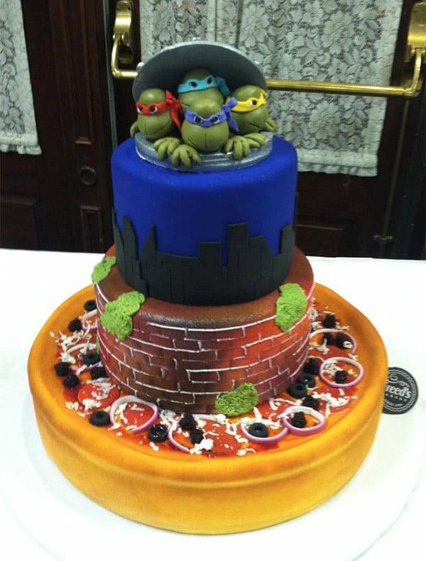 tmnt_wedding_cake