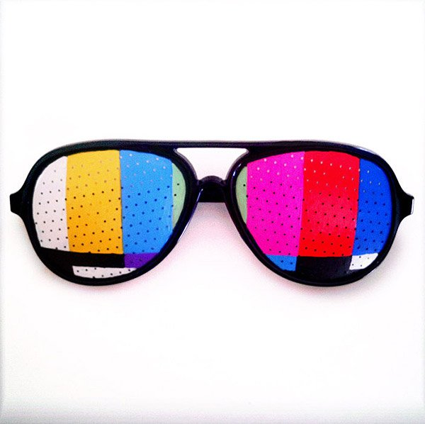tv test pattern shades
