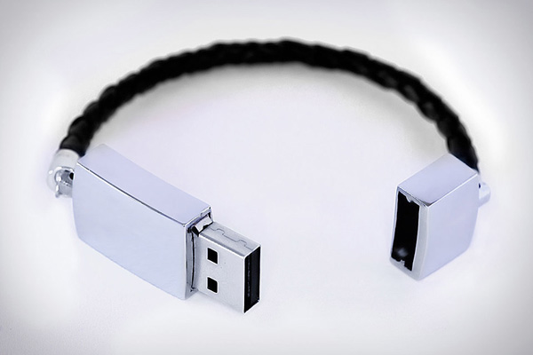 usb bracelet bynordvik scandinavian flash drive wearable