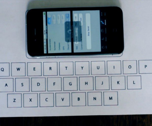 Virtual Mobile Keyboard Reads Vibrations, Tests Your Touch Typing