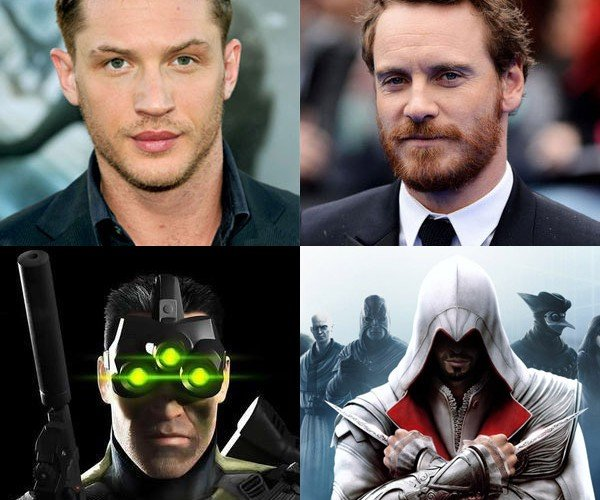 Tom Hardy and Michael Fassbender to Star in Video Game Inspired Movies