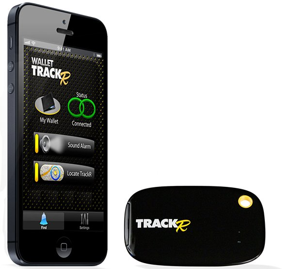 wallet trackr bluetooth gps ios device