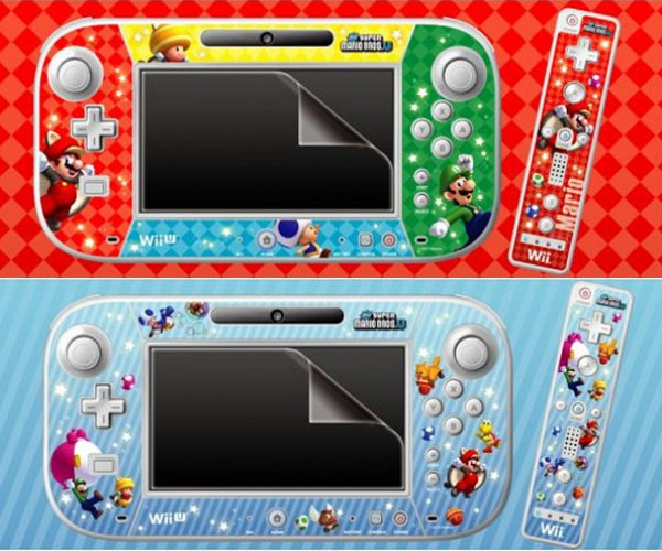 Super Mario Bros. Decorate the Wii U GamePad