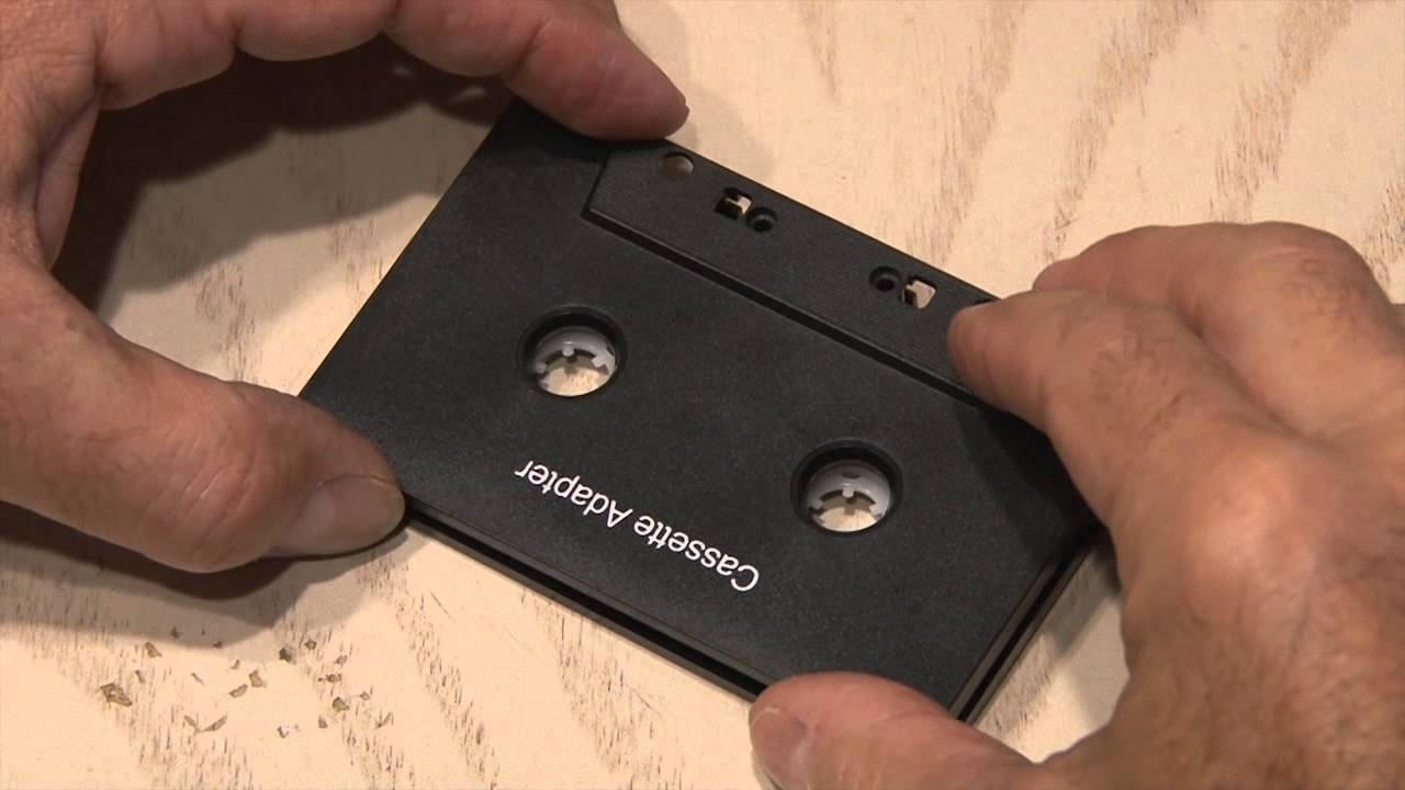Cassette Adapter Bluetooth Hack: Cost Cutting Cutting Edge