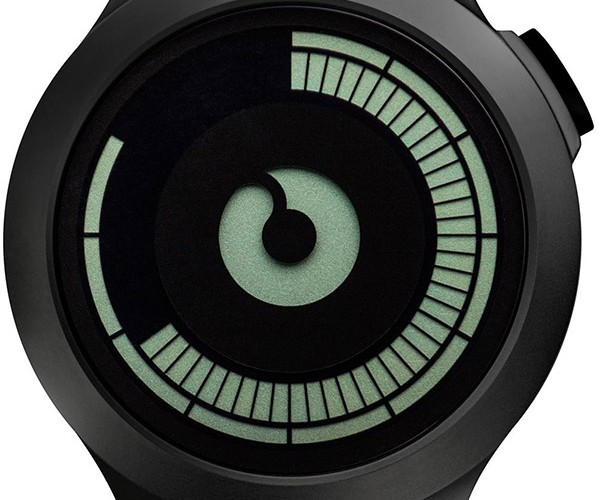 Ziiiro Saturn Watch: Telling Time with Rings
