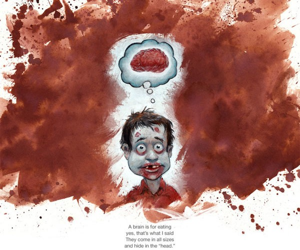 Zombie Children's Book Teaches the Little Undead