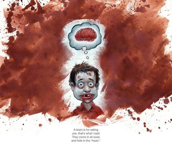 Zombie Children's Book Teaches the Little Undead