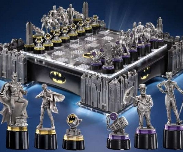 Batman Chess Set Priced for Bruce Wayne