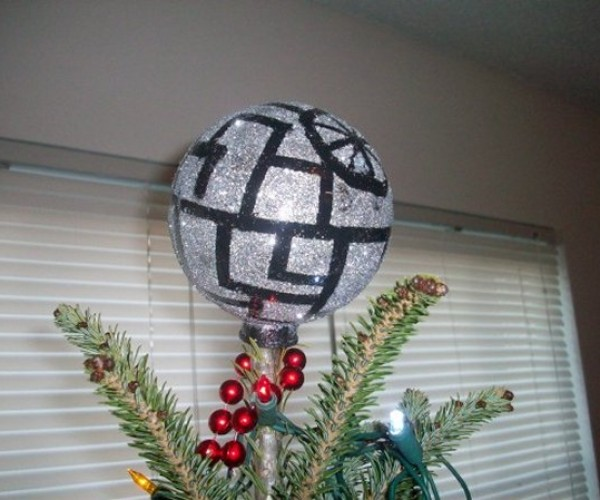 Death Star Tree Topper: Silent Night (on Alderaan)
