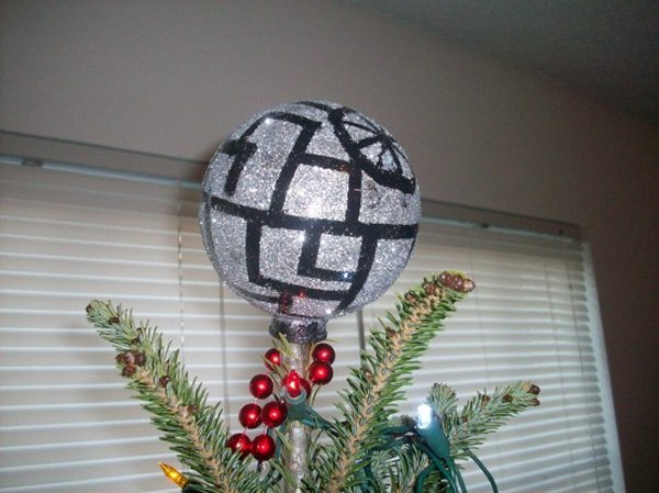 Deathstar tree topper
