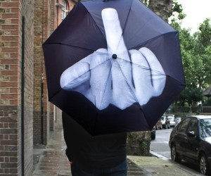 Got a Problem With the World? Then Flip off Everything (and Everyone) With This Umbrella