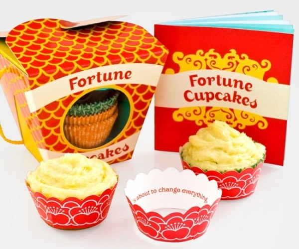 Fortune Cupcakes: Now You Can Have Your Cake and Get Your Fortune, Too