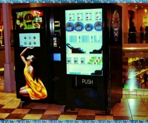 Gourmet on the Go: Vending Machine Dispenses Caviar and Escargot