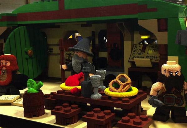 Lego Hobbit Hole 1